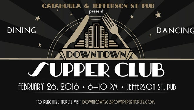 Go back in time with the Downtown Supper Club.