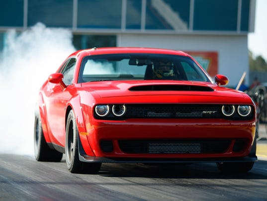 These specs on the 2018 Dodge Demon are ridiculous - and awesome