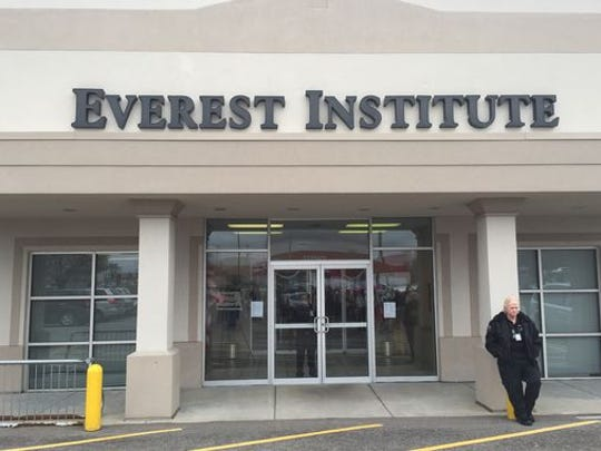Everest Institute sat empty after its closure last year.