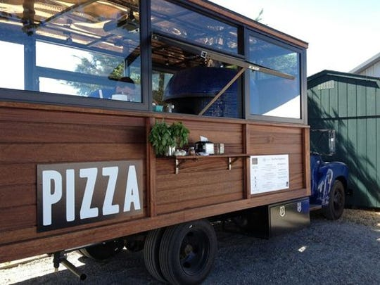 """Dean Medico's """"pizza mobile"""" will bring food and alcohol to you."""