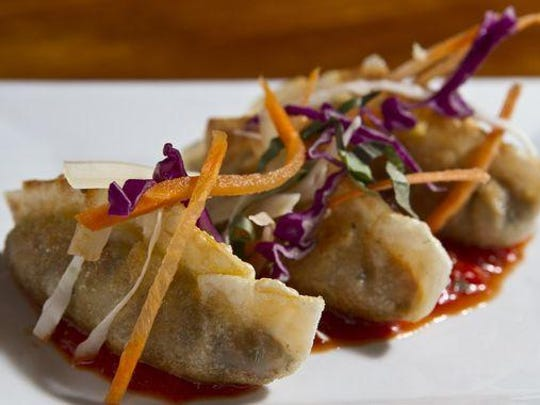Italian dumplings from Front Street Trattoria in Red Bank are filled with chicken sausage, portobello mushrooms and sun-dried tomatoes.