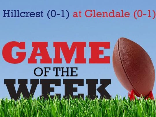 The Springfield News-Leader Game of the Week features Glendale hosting Hillcrest in the Ozark Conference.