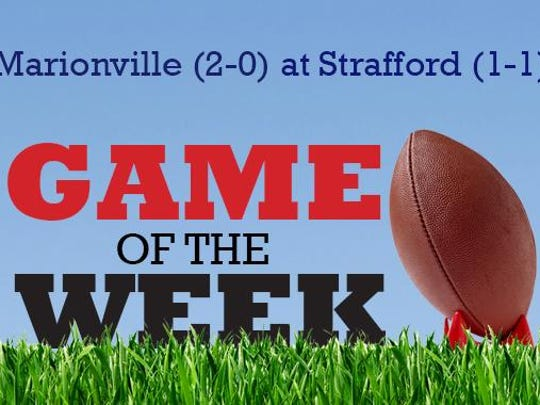 Game of the Week: Marionville at Strafford