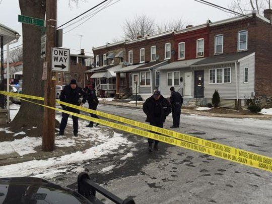 Wilmington police investigate at 24th and Carter streets,