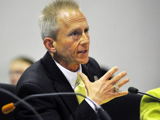 State Sen. Jeff Van Drew, seen in this 2011 file photo, plans a hearing on the state's nearly empty Lead Hazard Control Assistance Fund.