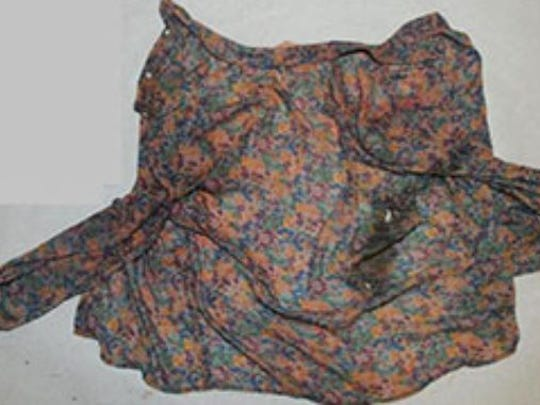 Two blood-stained blouses were found alongside an infant's head in November at a Farmingdale recycling facility, authorities say. Authorities believe both blouses are tied to the infant's mother.