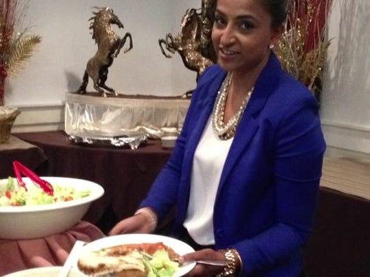 Sana Khan co-organized a fundraiser for Islamic Relief on Thursday at her Edison restaurant, Shahnawaz Palace.