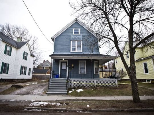 The home of Kevin DeOliveira, at 58 Greene St., where he was found dead with a gunshot wound.