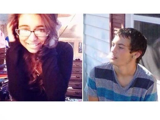 Danielle Torrez and Dakota Moore were killed in a one-car crash on Oct. 28, 2014.