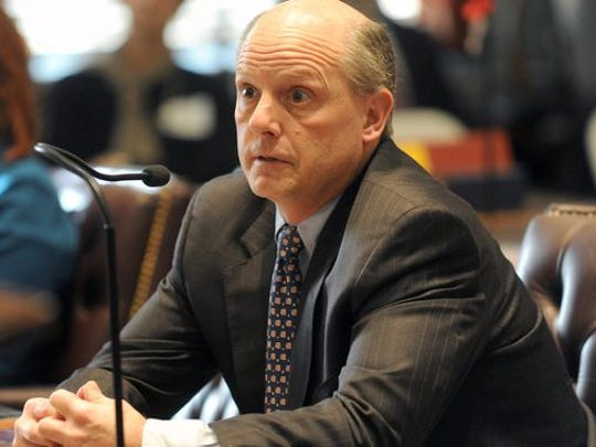 Delaware Chief Justice Leo Strine in March 2015.