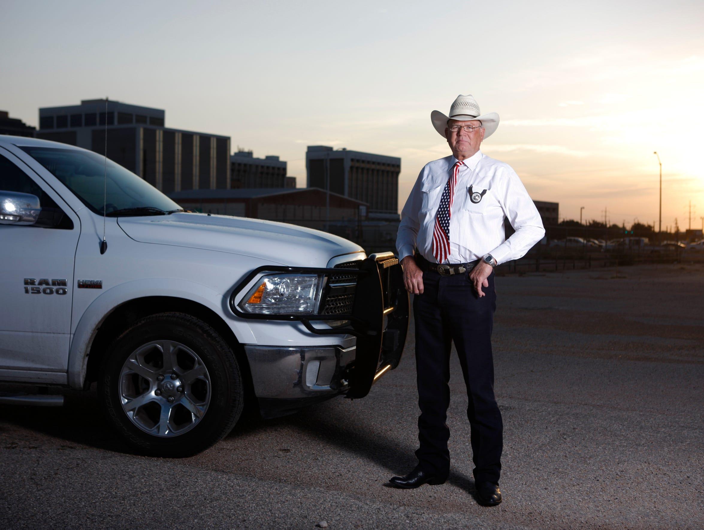 Midland County Sheriff Gary Painter