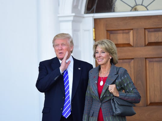 trump makes choice secretary education