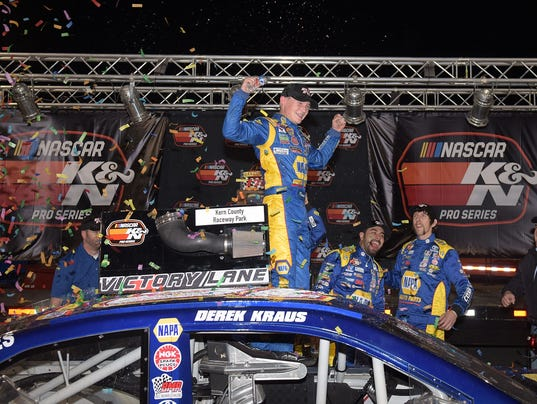NASCAR K&N Pro Series West Bakersfield 175 presented by NAPA Auto Parts