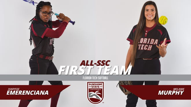 Xiarysse Emerenciana and Melanie Murphy Represent FIT on All-SSC First Team