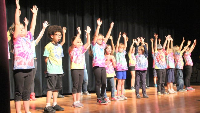 Campers in the Theater Group New Mexico summer performing arts camp finished off with a performance at Light Hall.
