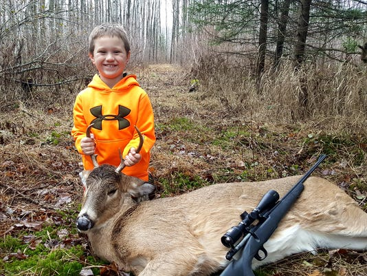 636475765502065773-Trenton-Kaczmarek-age-6-of-Stevens-Point-with-6-point-buck-taken-during-the-2017-Wisconsin-gun-deer-season-while-hunting-with-father-Michael.jpg