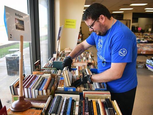 WALC Book Fair Setup 3
