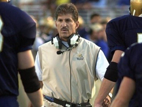 Regis Scafe is the football coach for Thomas More.