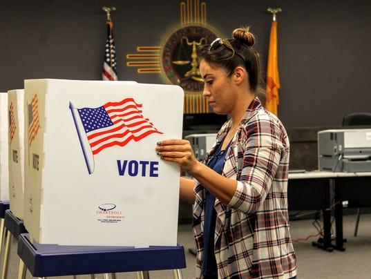 Tularosa voting