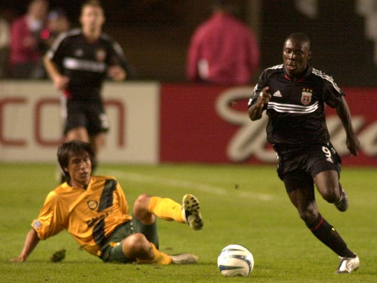 Freddy Adu was the youngest athlete to sign a major
