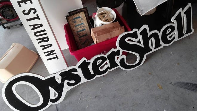 After 37 years in business, Oyster Shell in south Fort Myers closed Monday posting this picture of taken-down signs to its Facebook page.