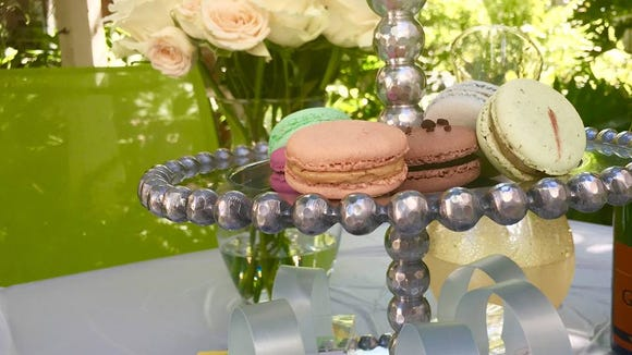 House of Pastel macarons come in a variety of colors