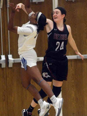 Bethel junior Alex Bearup scored 13 points in just her second game of the season, a 55-52 win over Tabor on Friday on the road.