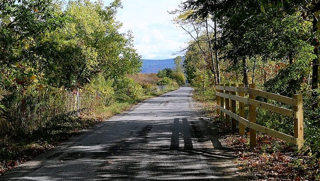 The Lackawanna Trail between Elmira and Ashland is now paved and open to the public.