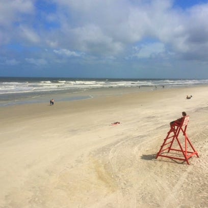 An unrelated photo of Jacksonville Beach.
