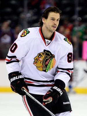 Antoine Vermette had 13 goals and 38 points during the regular season, with four goals in the playoffs.