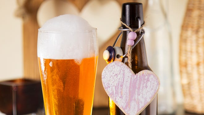 Don't feel left out beer-lovers. There's plenty for you to do on Valentine's Day.