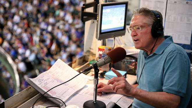 Pat Hughes has been the Chicago Cubs' radio broadcaster since 1996.
