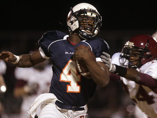 Blackman running back I'Tavius Mathers