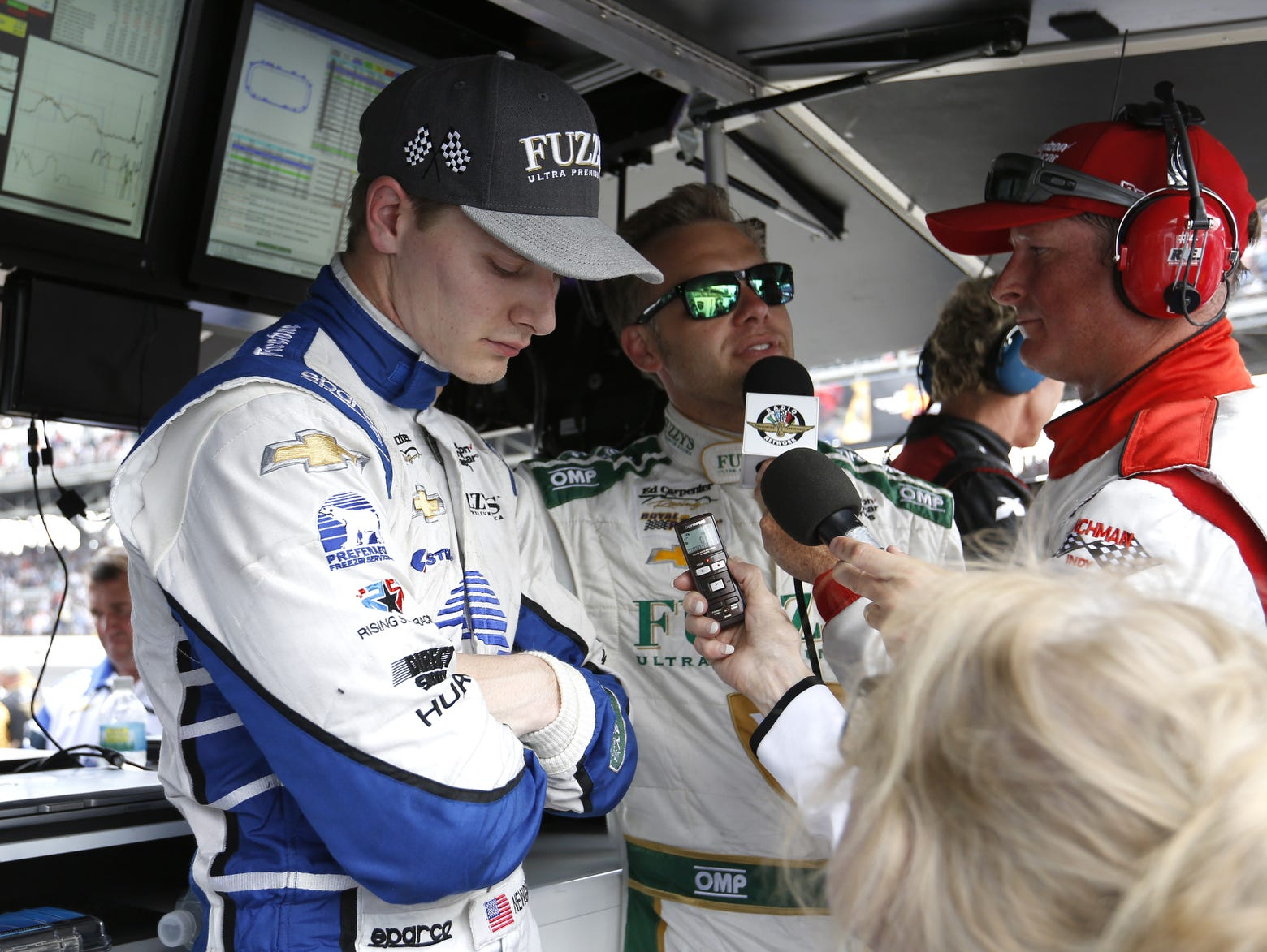 Josef newgarden cleared to resume driving usa today sports for Resumes today indianapolis