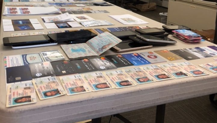 Two arrested after theft investigation reveals fake ID lab in Agoura Hills