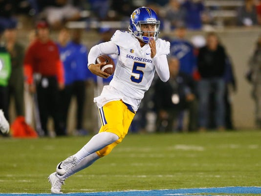 NCAA Football: San Jose State at Air Force