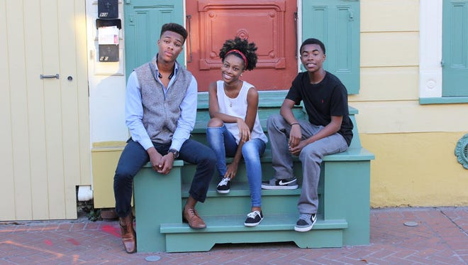 From left. Ryan, Brianna and Devin Joseph are Jacob's Ladder.
