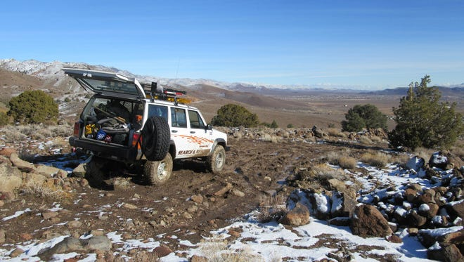 Winter backcountry travel can be trouble for the unprepared. Avoid mistakes that can lead to calls to search and rescue. Photo shows a Carson City Search and Rescue Jeep.