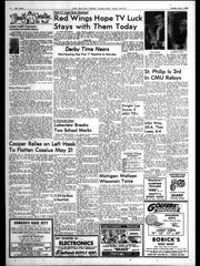 Battle Creek Sports History: Week of April 28, 1966
