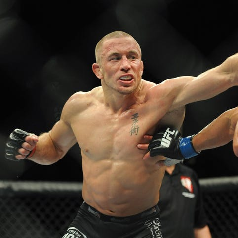 Georges St-Pierre to fight Michael Bisping for UFC's middleweight title