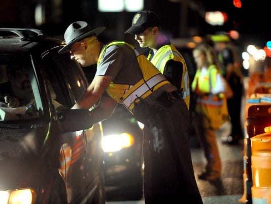 OVI checkpoint ohio highway patrol drunk driving