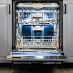 This dishwasher can blend in with a modern floor plan.