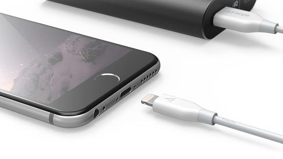 Keep your iPhone from dying with 60% off this portable battery