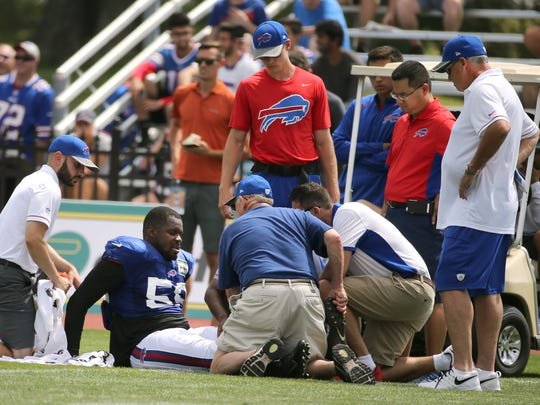 It has been just over a year since Reggie Ragland blew out his knee at training camp.