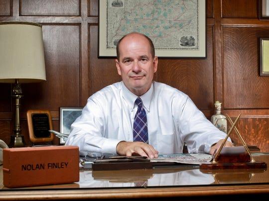 Garden City's own, Nolan Finley of the Detroit News, will serve as Santaland Parade's grand marshall.