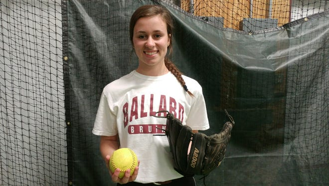 Ballard softball's Catie Barber is headed to play for the University of Louisville.
