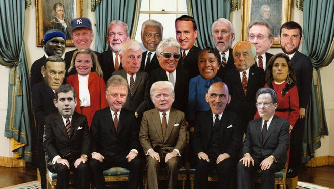 What Donald Trump's cabinet might look like comprised solely of Indiana sports figures.