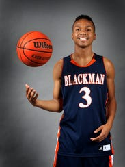 Blackman's Isaiah Hart