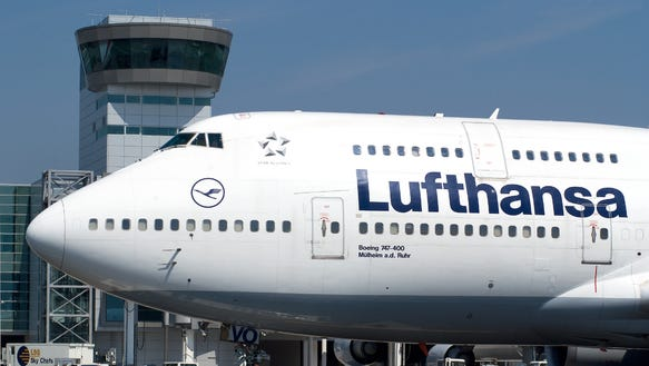 Lufthansa cancels flights in advance of pilot strike for Lufthansa direct flights to germany