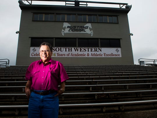 Bill Engelhardt has attended every South Western Mustangs football game since 1998.